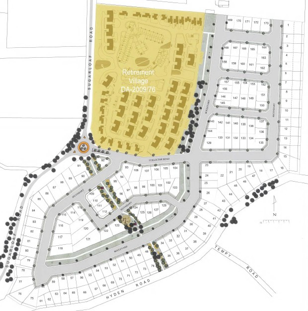 Sugarloaf Road Residential Master Plan