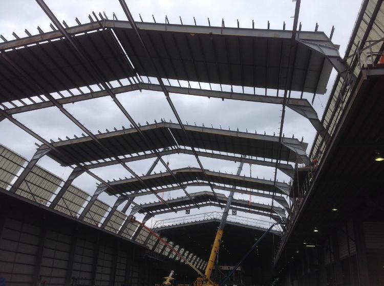 Incat Coverdales Roof Raising
